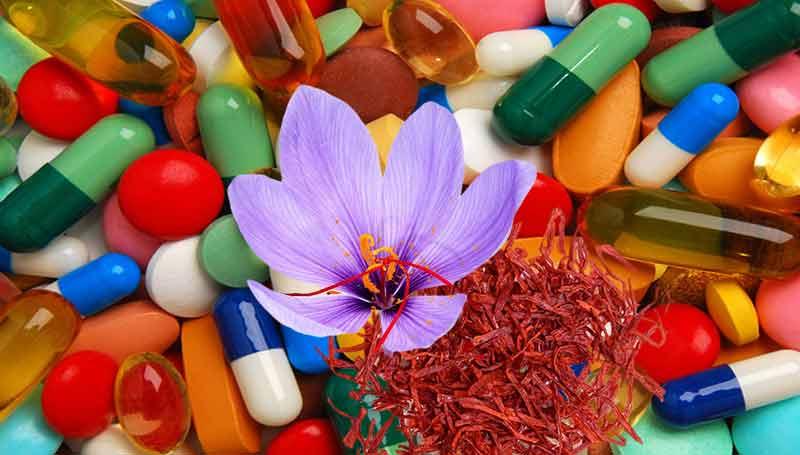 خواص زعفران در درمان افسردگی