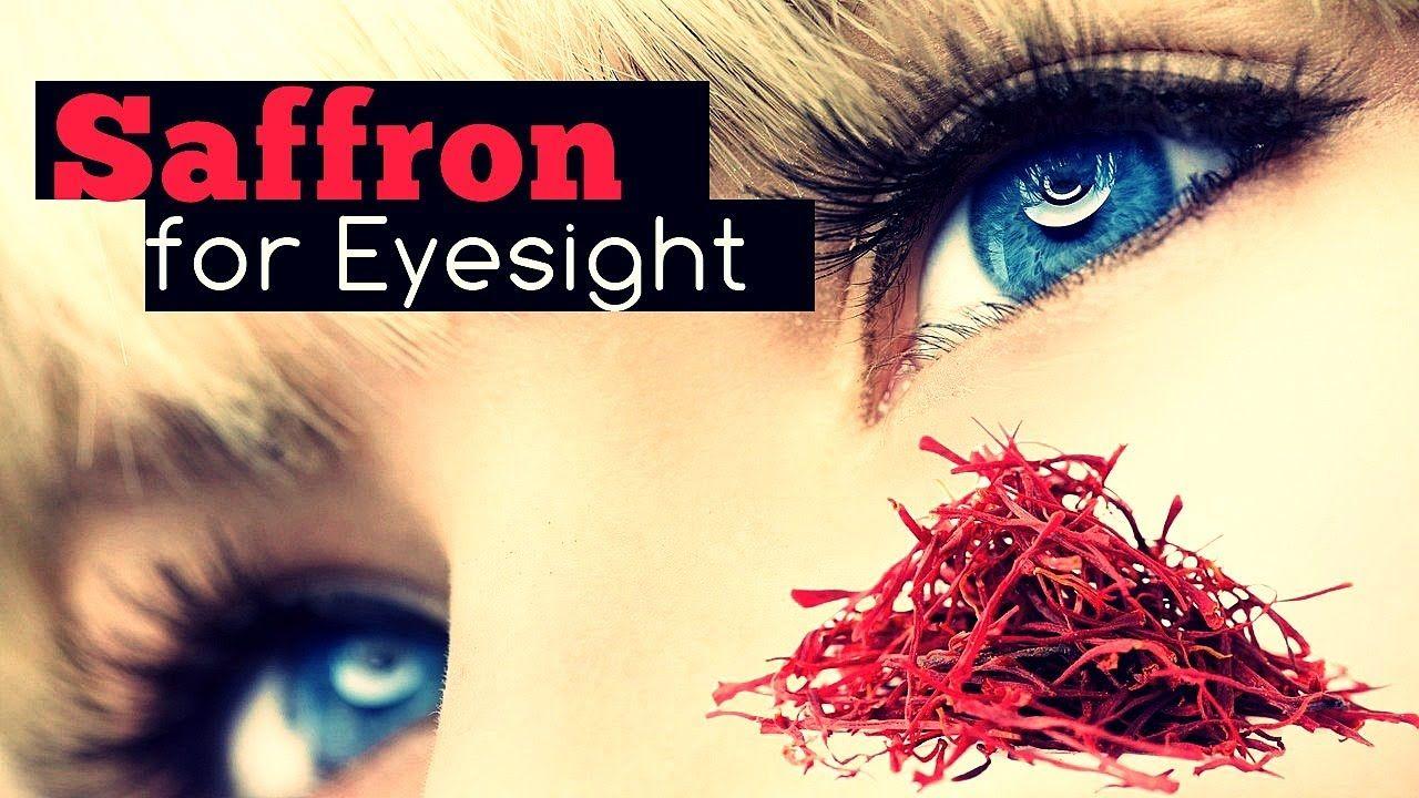 benefits of saffron for eyes