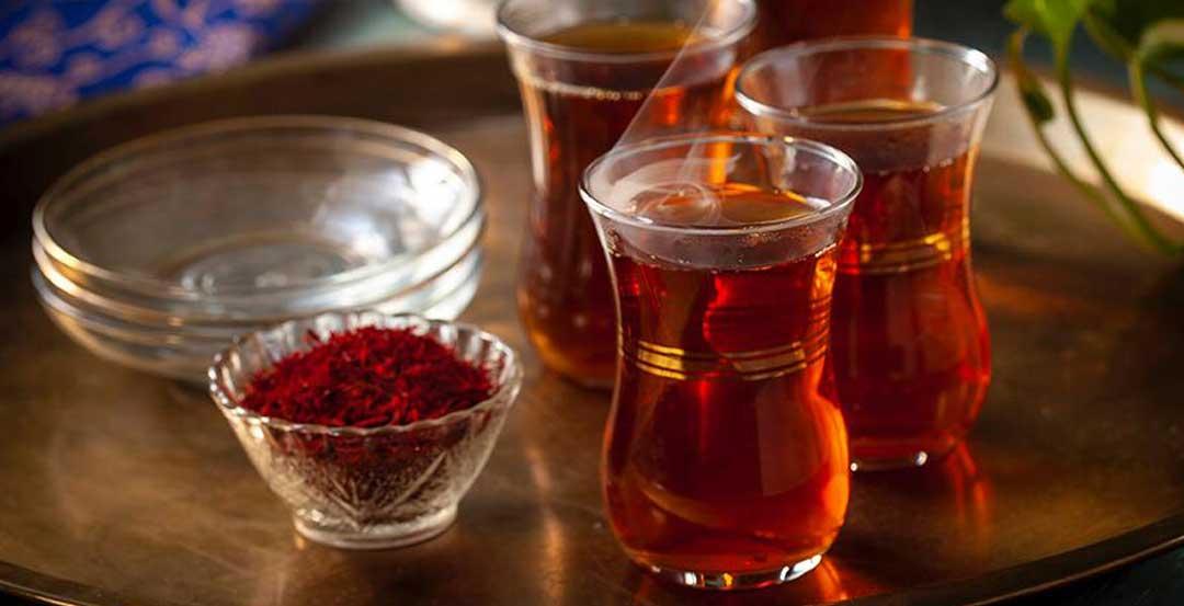 روش تهیه چای زعفرانی
